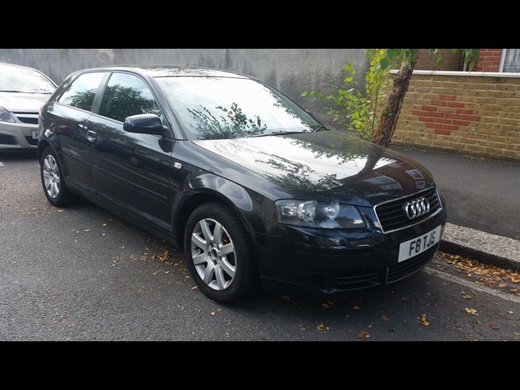 2004 black audi a3 1 9l diesel tdi in barking london gumtree. Black Bedroom Furniture Sets. Home Design Ideas