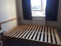 Double IKEA bed and Mattress Newcastle Upon Tyne £35 collection
