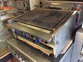 CATERING COMMERCIAL GAS CHARCOAL GRILL CHICKEN CAFE SHOP TAKE AWAY FAST FOOD CUISINE RESTAURANT CAFE