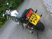 2000 Yamaha XJR1300 SP, 23k miles, long MOT, all works, many upgrades - lovely loud monster