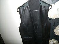 Leather Waist coat