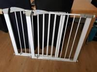Pair of Lindam stair gates