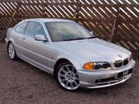 BMW E46 328ci, Manual, 1999 / V Reg, Only 53k Miles, 3 Owners, 1 Year MOT