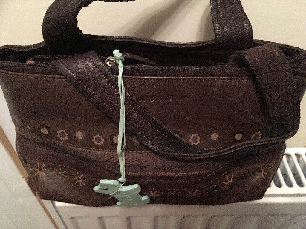 Radley chocolate bag