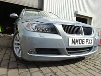 06 BMW 320 SE DIESEL ESTATE,MOT JUNE 017,FULL HISTORY,2 OWNERS FROM NEW,STUNNING EXAMPLE,INSIDE OUT