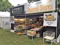 Staff Required for Festival Work - General Stores May - Sept. Glastonbury Included