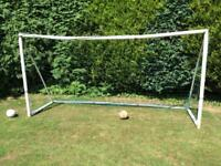 Large football goal for garden