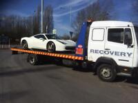 Vehicle transport and recovery. Large van space and motorcycle courier