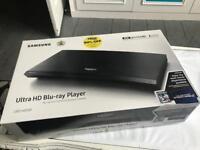 Samsung UBD-K8500 UHD HDR 4K BLU-RAY PLAYER, Netflix, Amazon Prime, BBC, Plex, + 4K Film