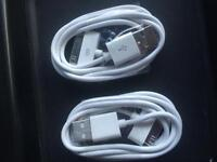 iPhone 4s USB charger cords - BRAND NEW