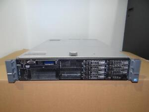 "Dell PowerEdge R710 Server - 2x Xeon Quad Core 2.4GHz (E5620) -64GB RAM  4X147GB-SAS 10K 2.5"" Hard Drives- PERC 6i RAID"