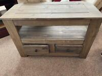 Two drawer TV unit, new for sale