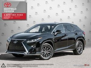 2017 Lexus RX 350 F-SPORT 2 WITH RED LEATHER
