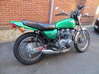 Kawasaki Z650 classic bike 1979