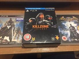 Play station 3 games (destiny ,Batman Arkham asylum ,Kill zone Trilogy )