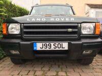 Full Land Rover Service History
