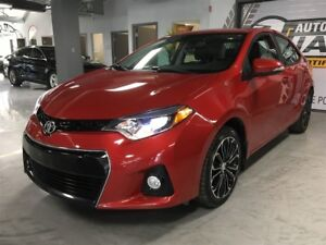 2016 Toyota Corolla S - CUIR - TOIT OUVRANT - NAVIGATION
