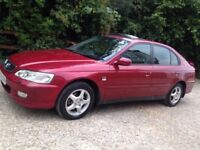 2001 Red Honda Accord 5 Door *MOT*