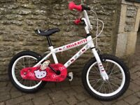 """Hello Kitty Child's Bicycle - 16"""""""