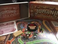 Jumanji Board Game MB Games 1995 vintage