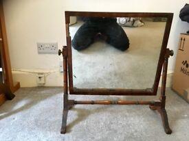 stunning mahogany vintage dresser mirror