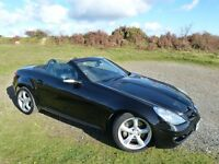 2006 Black Mercedes Benz SLK350