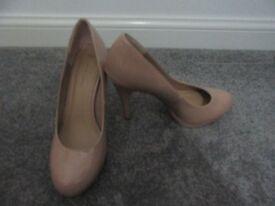Nude heels, New Look size 6