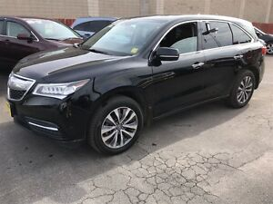 2014 Acura MDX Automatic, Navigation, Leather, Power Sunroof, AW