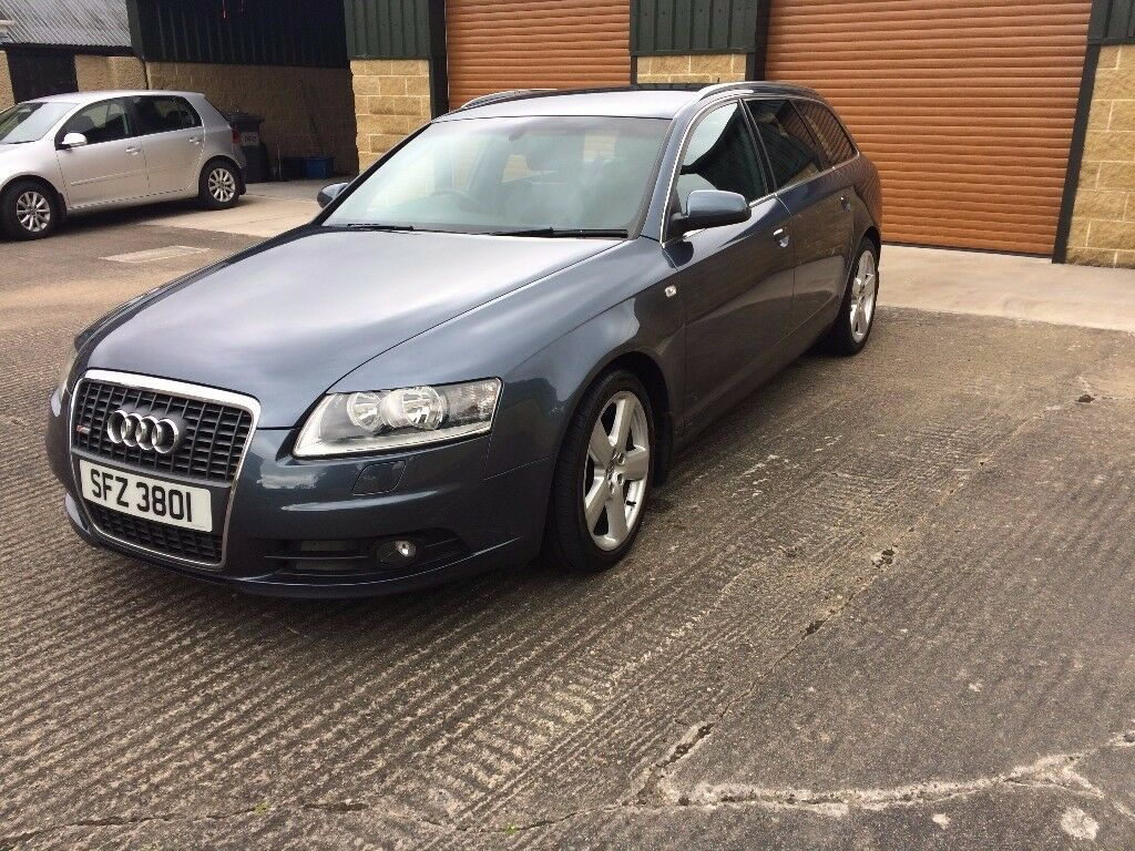 Audi A6 Avant S Line 2.0TDI auto metallic blue 111,000miles. Stunning car with all the S line extras