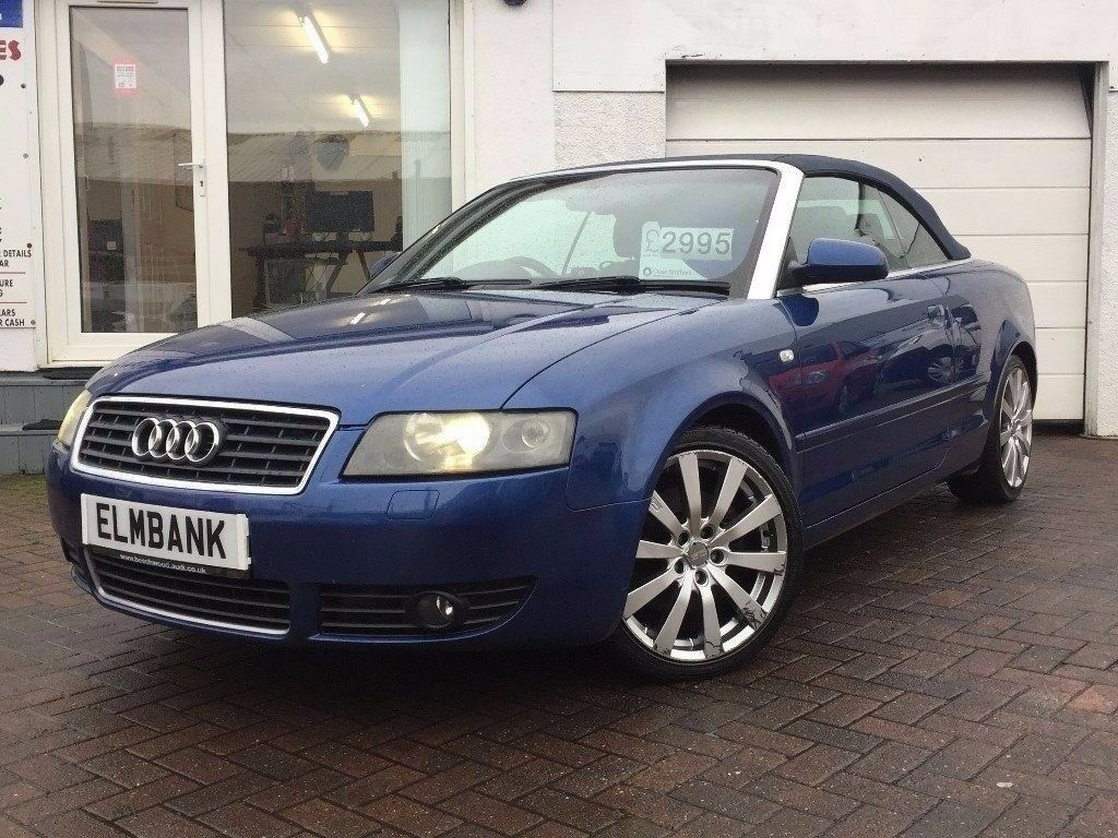 2004 54 audi a4 cabriolet 2 5tdi cvt sport low miles in ayr south ayrshire gumtree. Black Bedroom Furniture Sets. Home Design Ideas