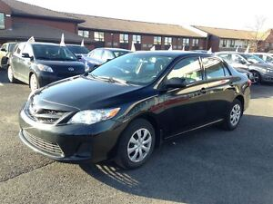 2012 Toyota Corolla CE + CLIMATISATION + USB + AUXILIAIRE