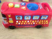 VTech Phonics Learning Bus