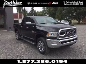 2017 Ram 3500 Longhorn Limited | Leather | Tow Mirrors | GPS