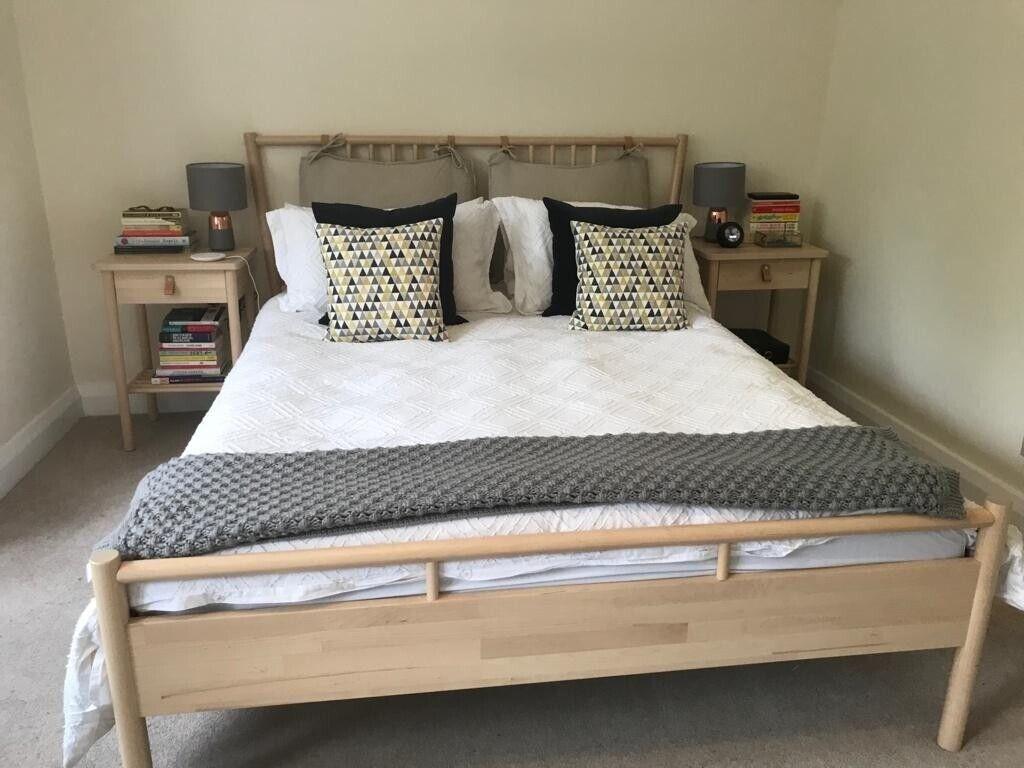 Fine Ikea Bed Bjorksnas Wooden Frame In Oxford Oxfordshire Gumtree Download Free Architecture Designs Ferenbritishbridgeorg
