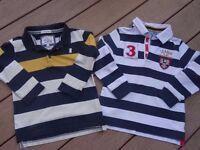 M&S and Junior J boys tops in superb condition age 4-5yrs.
