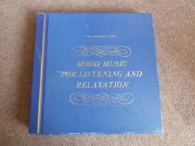 Set of Vinyl LPs - Mood Music for Listening and Relaxation