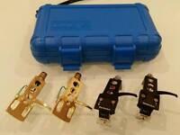 Shure M447 Technics headshells & case