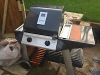 Tungsten outback gas BBQ