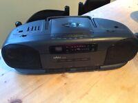 Saisho radio/CD/cassette player