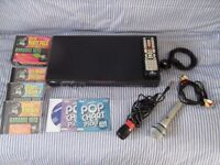 STARSINGER-1000.DIGITAL RECORDING KARAOKE PLAYER -2 microphone and disks