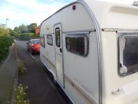 4 birth avalon caravan with awning for sale lovely condition no leaks or damp