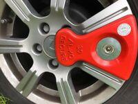 Alko wheel lock #30 + plastic insert