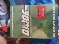 G.I.Joe the complete first series 95 episode cartoon dvd set