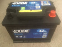 Exide Exell EB620 Type 027 Battery.