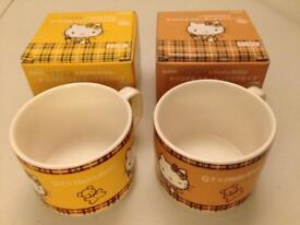 Hello Kitty Cups (New) TO BE SOLD BY 25 APR