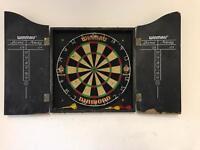 Used dart board