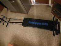 Total Gym 1500 Exercise system