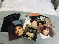 "Job Lot of 13 Barbra Streisand 12"" Vinyl Records"
