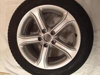 Genuine Audi a4 Technik alloy wheel with Michelin tyre 225/50/17!!