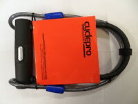High Security Raleigh Protector D Shackle Bike Lock With Extra Armoured Cable Located Bridgend Area